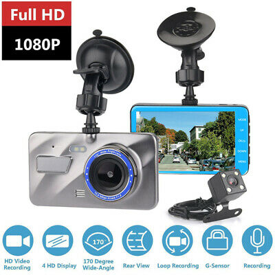 4''Autokamera HD Dash cam CAMPARK 1080P GPS 170° Video Recorder Parkmonitor