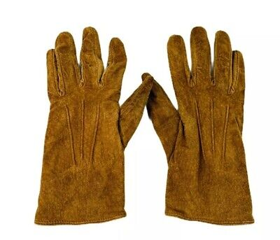Aris 115 Womens Leather Gloves Brown Size Medium
