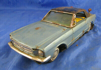 Ford Mustang Blechspielzeug 60er Jahre Pony-Car Bandai/Japan PKW