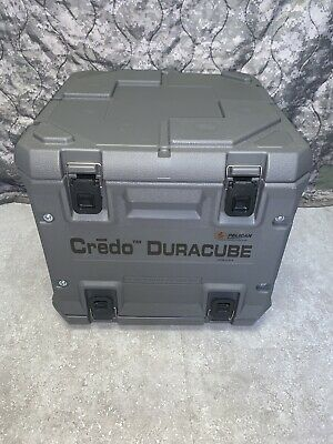 """Credo Duracube Pelican Case Golden Hour Technology Thermal Container 18"""" Sq. NEW"""