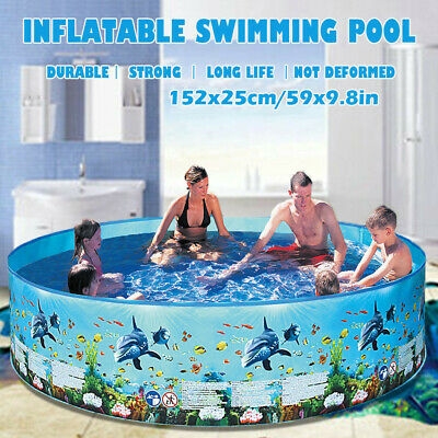 Large Family Swimming Pool Garden Outdoor Summer Inflatable Kids Paddling Pools.