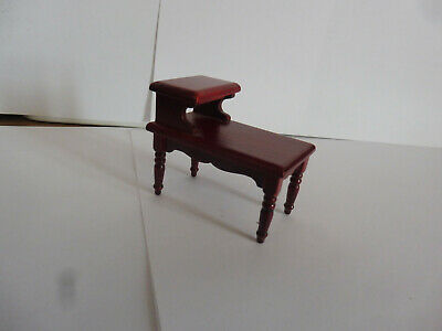 DOLLS HOUSE MINITURES 1/12th SCALE TELEPHONE TABLE