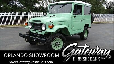 1968 Toyota FJ Cruiser Land Cruiser Green 1968 Toyota FJ40 SUV 6 4 Speed Manual Available Now!