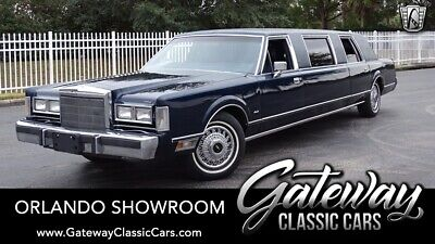 1988 Lincoln Town Car Limousine Blue 1988 Lincoln Town Car  5.0L V8 4 Speed Automatic Available Now!