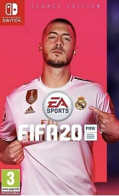 Fifa 20 Nintendo Switch Legacy Edition 2020