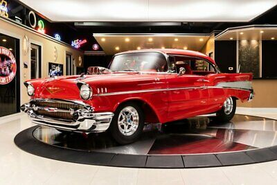 1957 Chevrolet Bel Air Restomod Restomod! Supercharged 502ci Crate V8 (700+hp) TH400 Auto, 4 Link, PB, 4W Disc
