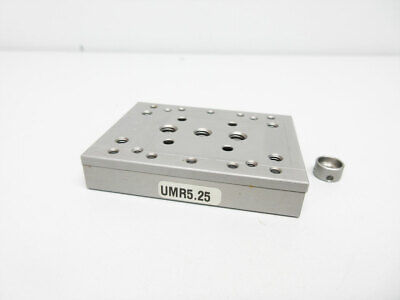"Newport Umr5.25 Linear Stage Double-Row Ball Bearings 0.98"" - No Micrometer"