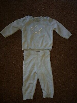Marks and Spencer Baby Boys 3-6 Month Two Piece