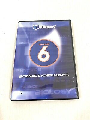 Lifepac DVD Grade 6 Science Experiments Homeschooling Learning 2004 No Manual