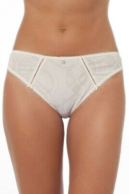Empreinte Classy Hipster Thong 0182 Lily Rose White with Lace New