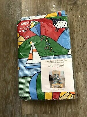 Little Bird By Jools Oliver Balloon Bedding Duvet Cover Set Cot Bed/ Toddler Bed
