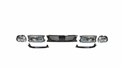 91-94 Sentra - Sunny B13 Aftermarket Front end Headlights + Grill