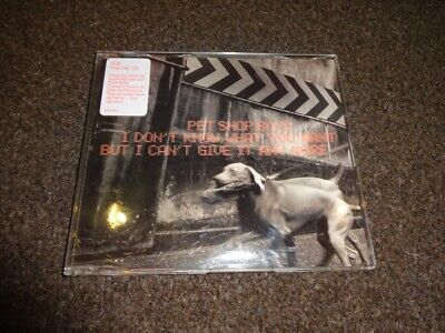 Cd Single - Pet Shop Boys - I Dont Know What You Want But I Cant Give It Any Cd2