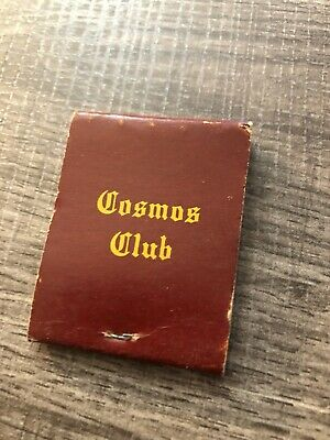 Advertising Matchbook Cosmo Club FULL Eagles Wings