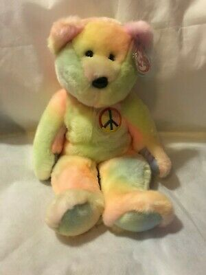"Ty Beanie Baby Buddy Collection ""Peace"""