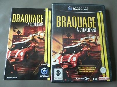 Braquage A L'italienne ( Game Cube - Nintendo )  Complet
