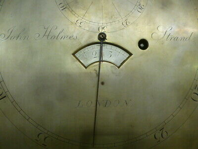 Regulator longcase clock  Holmes  Strand  London
