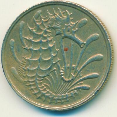 Coin / Singapore / 10 Cent 1979        #Wt14843