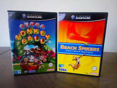 Beach Spikers, Super Monkey Ball GameCube PAL