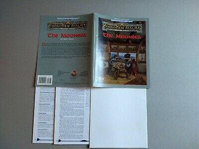 AD&D - THE MOONSEA Advanced Dungeons & Dragons TSR 9474