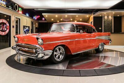 1957 Chevrolet Bel Air  Frame Off, Rotisserie Restored! 383ci Stroker V8, 700R4 Automatic, PS, PB, A/C