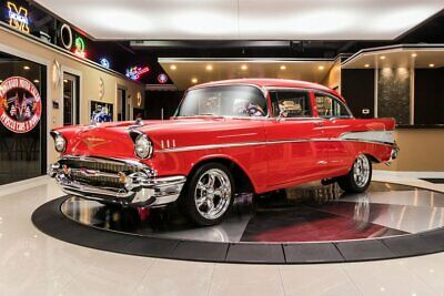 1957 Chevrolet Bel Air Restomod Frame Off Restored Bel Air! GM ZZ6 350ci Crate Engine, TH400 Auto, PS, Disc