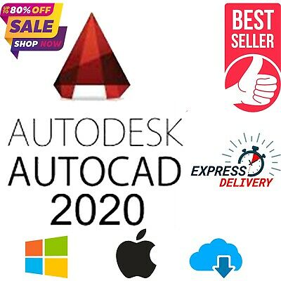 🔥 Autodesk Autocad 2020 License ✅ Lifetime Genuine Key ✅ Express Delivery 🔥