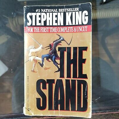 Stephen King The Stand Complete & Uncut 1990 Paperback Cover