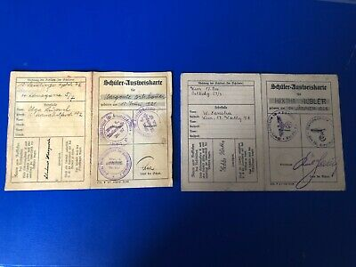 Ww2  German Collection Of 2 Documents  G22