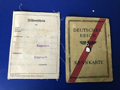 Ww2  German Collection Of 2  Documents  G26