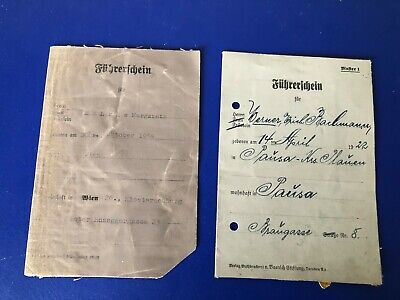 Ww2  German Collection Of 2  Documents  G27
