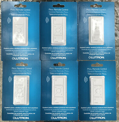 Lutron Pico Remote For Casetta Wifi Dimmers***LOT OF 6***NEW FACTORY SEALED***