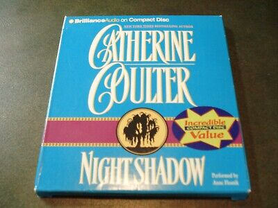 CATHERINE COULTER~  Audio Books On 5 Cd's ~ NIGHT SHADOW