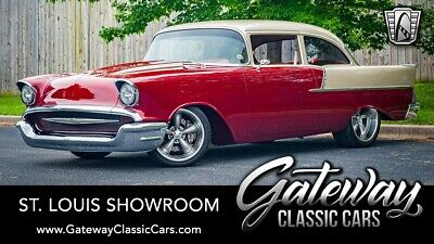 1957 Chevrolet Bel Air/150/210  Red Jewel & Champagne 1957 Chevrolet 210  LS2 4L60 Available Now!