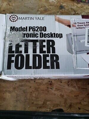 C16~Great condition~Martin Yale P6200 Electronic Desktop Letter Folder