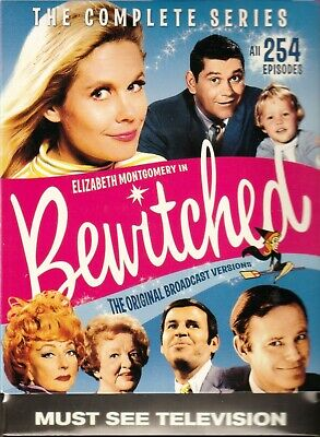 Bewitched: The Complete Series DVD  Box Set New Free Shipping