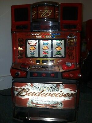 Pachislo Skill Stop Slot Machine Token Budweiser Themed.