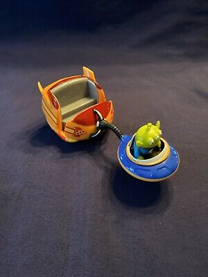 Disney Toy Story Land Alien Swirling Saucers Ride Pull Toy Blue Orange NEW