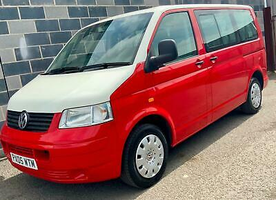 VW TRANSPORTER T30 104 T5 SWB 9 Seater only 91'000 miles