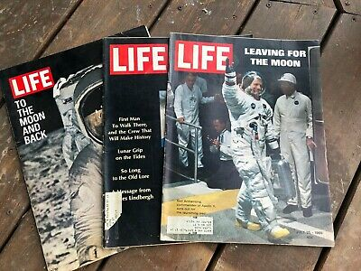 Life Magazine 1969 Special Moon Landing Issues