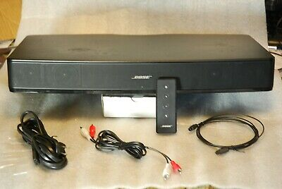BOSE Solo TV Home Theater Sound System - UPDATED to LATEST SOFTWARE VERSION