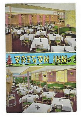 Oregon Inn, Milwaukee, Wisconsin, Chinese Restaurant, Vintage Postcard