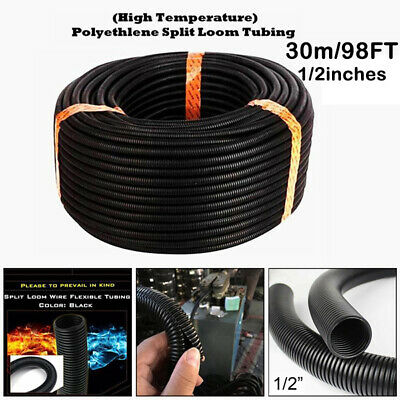 5-50m Corrugated Pipe Ø 12 External 16 Cable Protection Pipe Marten Protection m16 PP No Slits