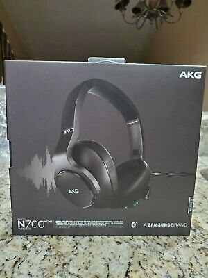 Akg N700 Ncm2 Wireless Noise Cancelling Bluetooth Headphones Black