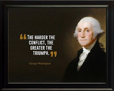 The Harder The Conflict Poster Print Picture or Framed Wall Art