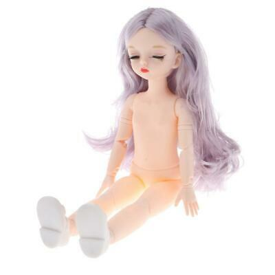Lovely 1//4 Flexible BJD Doll Body Molds Parts Realistic 4D Eyes Repair Supplies