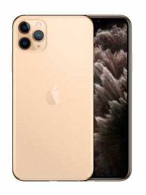 Apple iPhone 11 Pro Max - 256GB - Gold (Unlocked) A2161- Free Shipping
