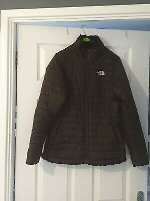 Girls Northface Reversible Coat Xl.(would fit women size 10-12 I would say)