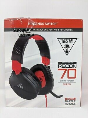 Turtle Beach Recon 70 Gaming Headset for NINTENDO SWITCH | PS4 | XBOX ONE