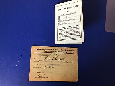 Ww2  German Collection Of 2 Documents R5
